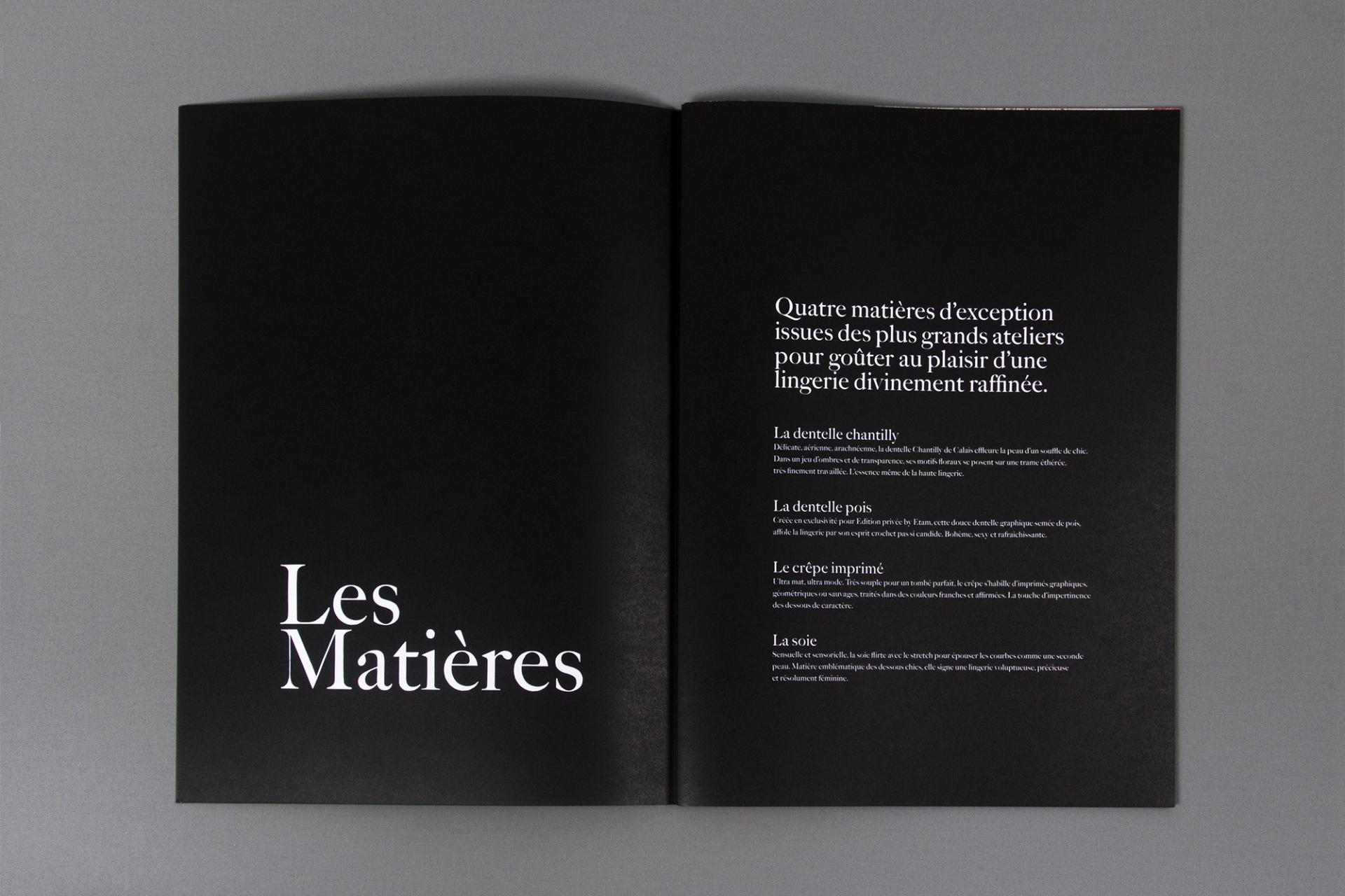 Vincent Chatelet Etam, Édition Privée